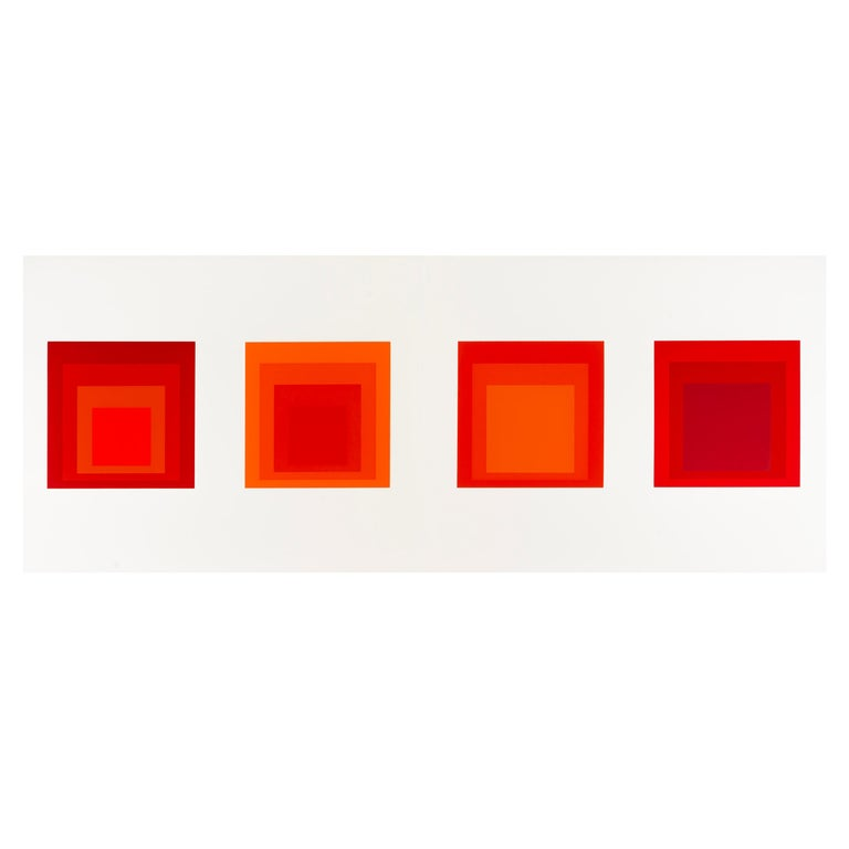 "Josef Albers ""Formulation : Articulation"" Portfolio II, Folder 28 For Sale"