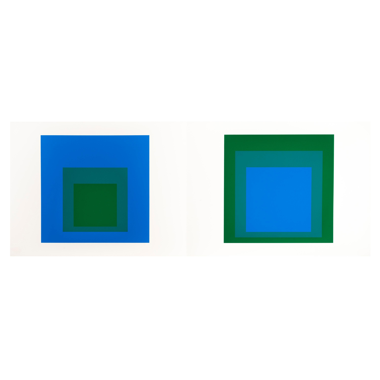 "Josef Albers ""Formulation : Articulation"" Portfolio II, Folder 33"