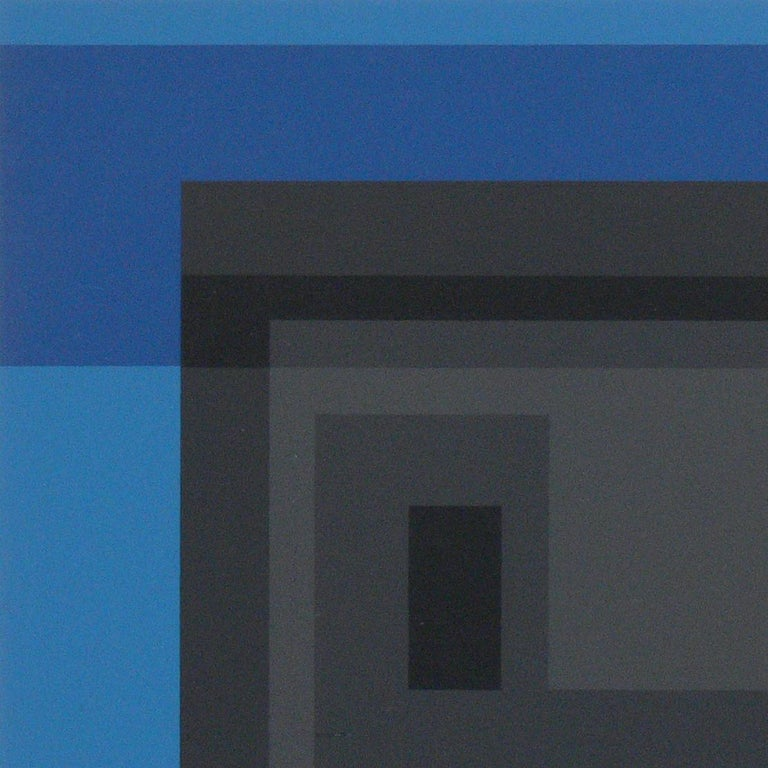 Lacquered Josef Albers Color Lithographs For Sale