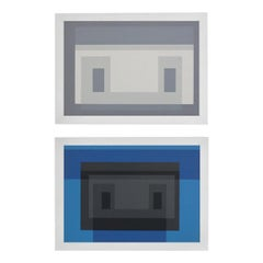 Josef Albers Color Lithographs