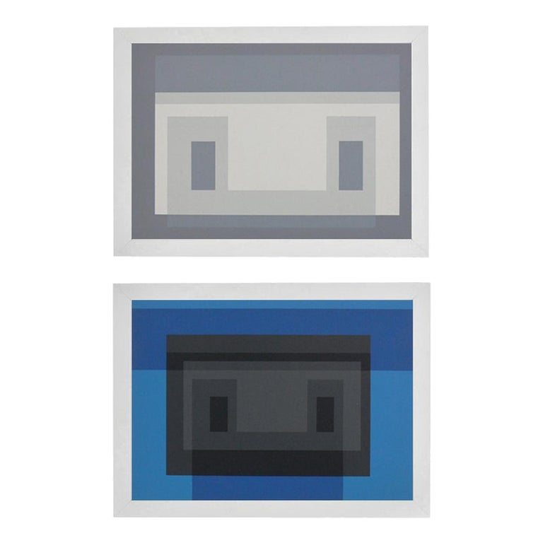 Josef Albers Color Lithographs For Sale