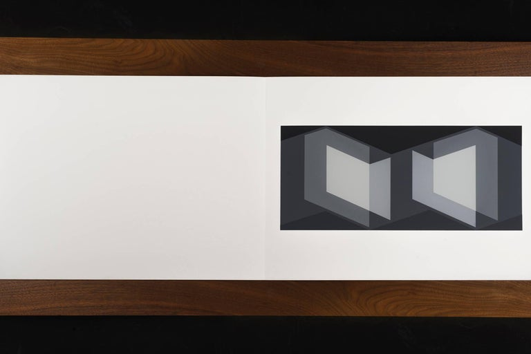 Josef Albers Formulations - Articulations I & II Print #7 Editions 974/1000 1972 screen-print on paper Embossed with Josef Albers initials, portfolio and folder number. This work is published by Harry N. Abrams and Ives-Sillman. This work has never
