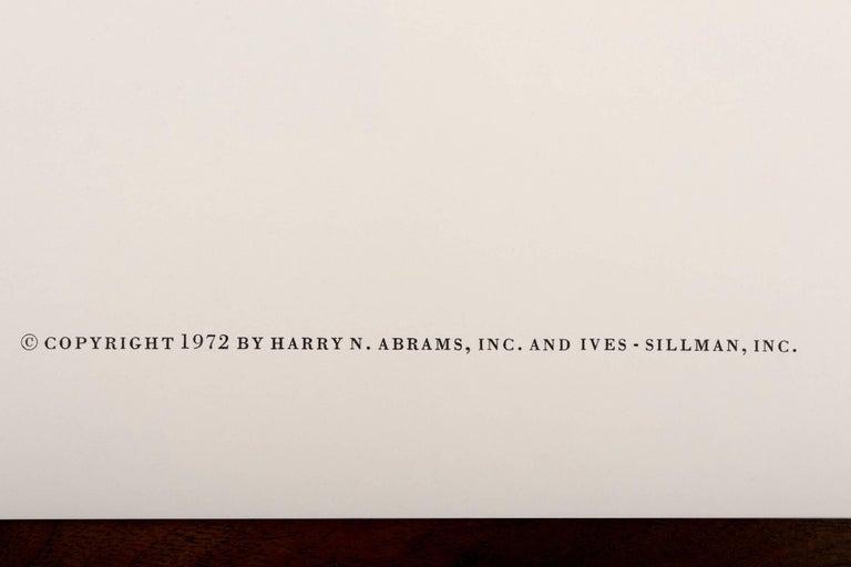 American Josef Albers Silk Screen Diptych For Sale