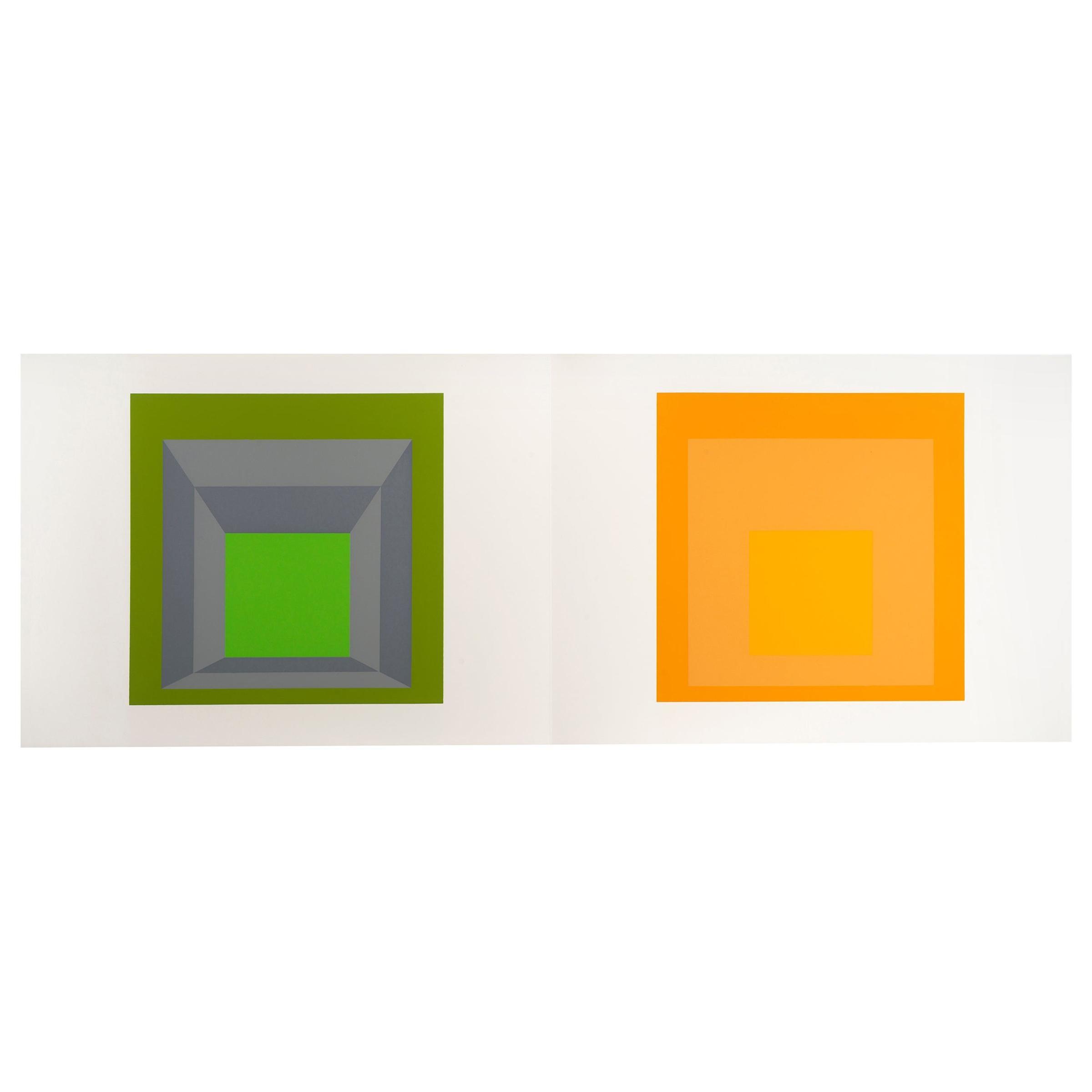 "Josef Albers ""Formulation : Articulation"" Portfolio II, Folder 17"