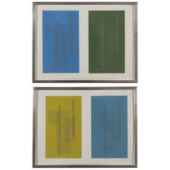Josef Albers, from the Formulation Articulation Portfolio Priced Individually