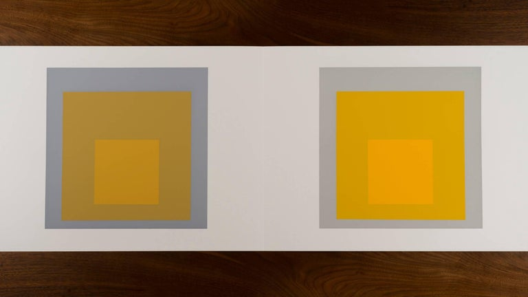 Josef Albers Formulations - Articulations I & II