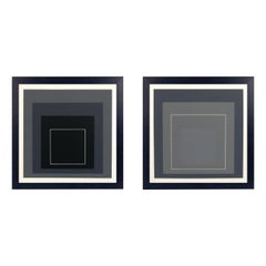 Josef Albers Homage to the Square Lithographs
