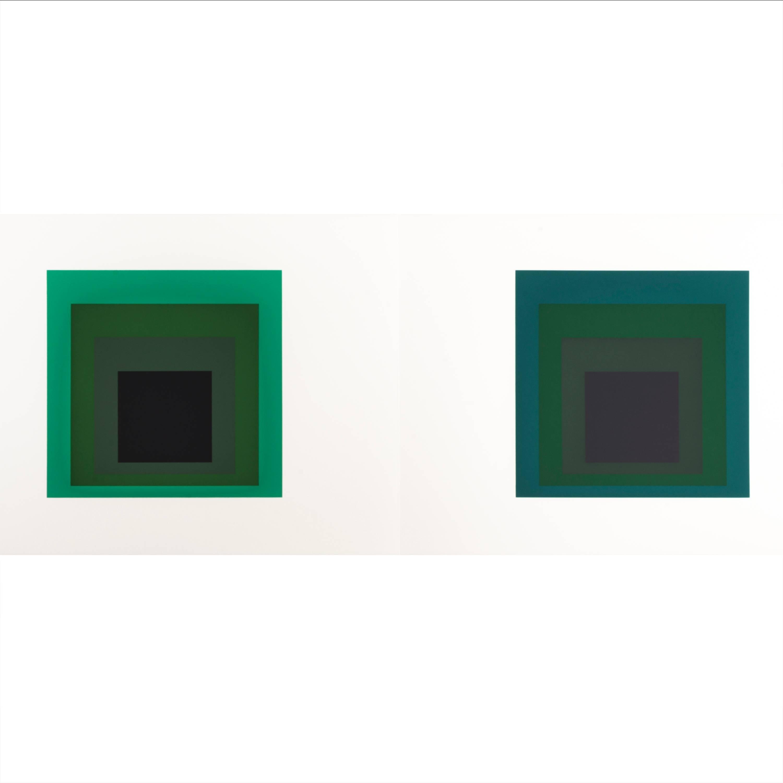 "Josef Albers ""Formulation : Articulation"" Portfolio II, Folder 14"