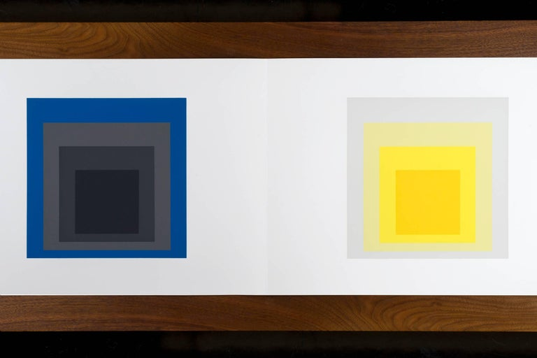 Josef Albers formulations - Articulations I & II Edition 974/ 1000 1972 screen-print on paper Embossed with Josef Albers initials, portfolio and folder number. This work is published by Harry N. Abrams and Ives-Sillman. This work has never been