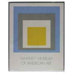 Josef Albers, Homage to the Square Whitney Museum of American Art, 1972
