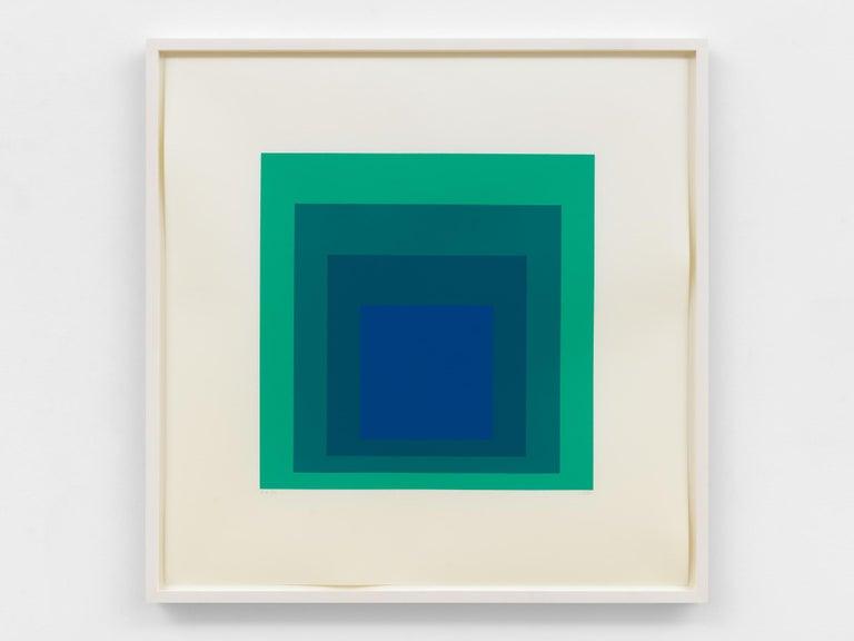 EK Ia - Print by Josef Albers