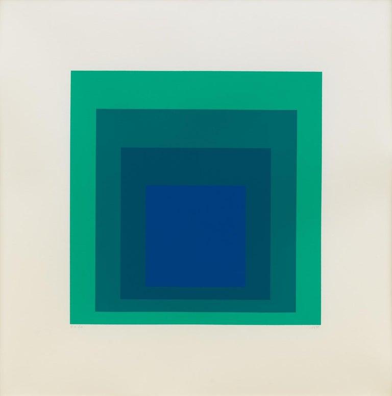 Josef Albers Abstract Print - EK Ia