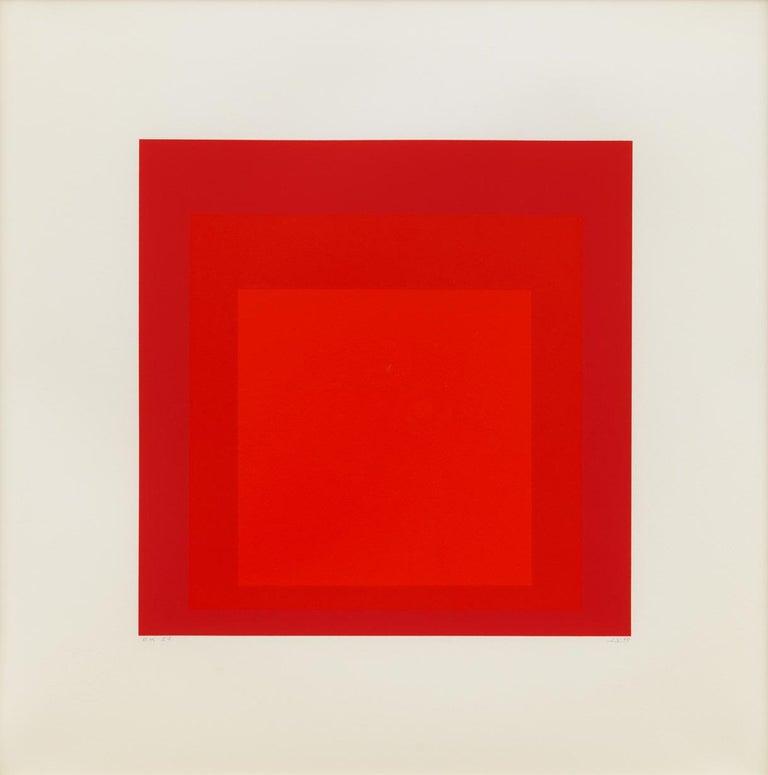 Josef Albers Abstract Print - EK Id