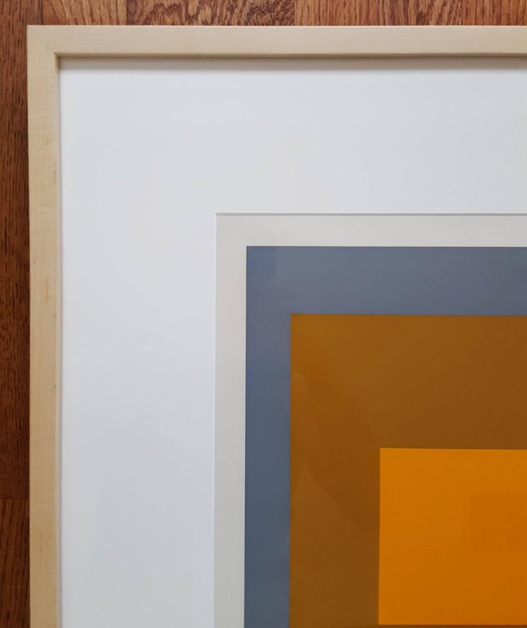 FGa - Minimalist Print by Josef Albers