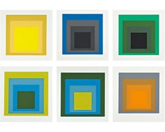 Formulation: Articulation I & II -- Colour Theory, Minimalism by Josef Albers