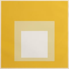 Homage the Square (Opalescent), Silkscreen by Josef Albers 1965