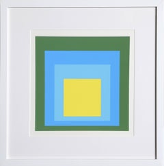 Homage to the Square from Formulation: Articulation by Josef Albers 1972