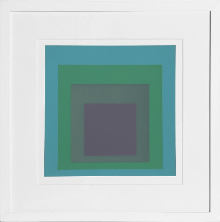 Josef Albers Abstract Print - Homage to the Square from Formulation: Articulation