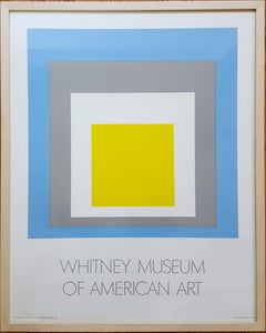 Homage to the Square: Whitney Museum of American Art