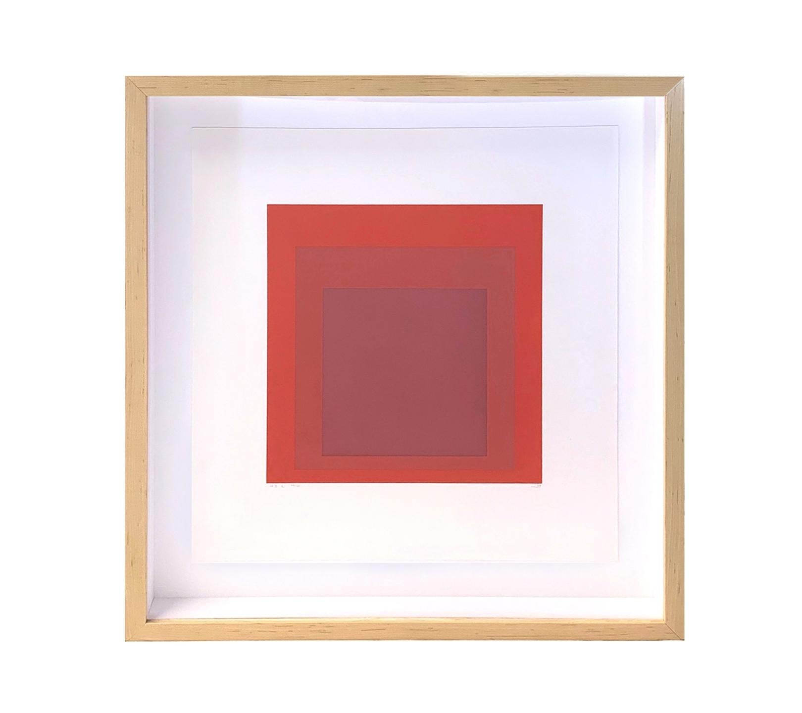 """Hommage to the Square """"GB 2"""" Screenprint, 1969"""