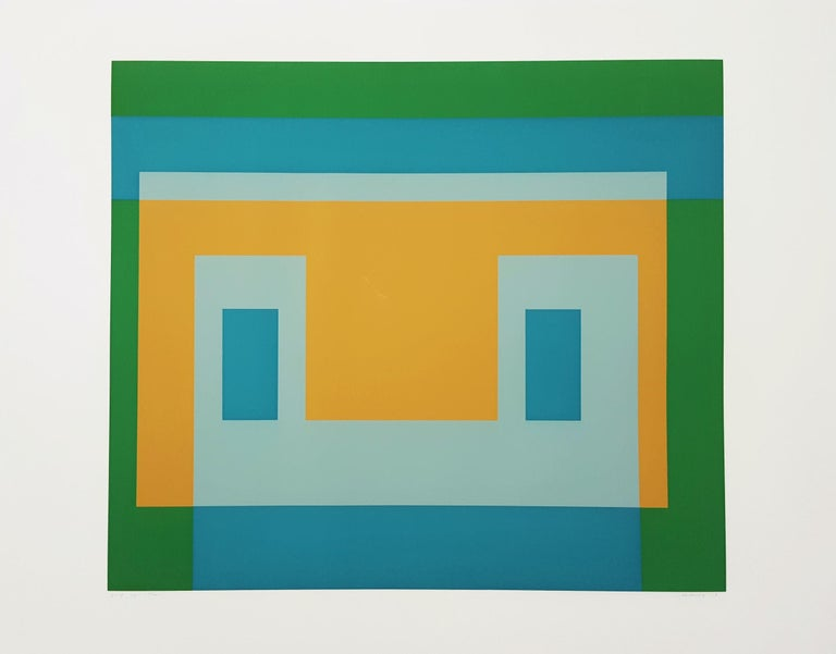 I-S Va I - Print by Josef Albers