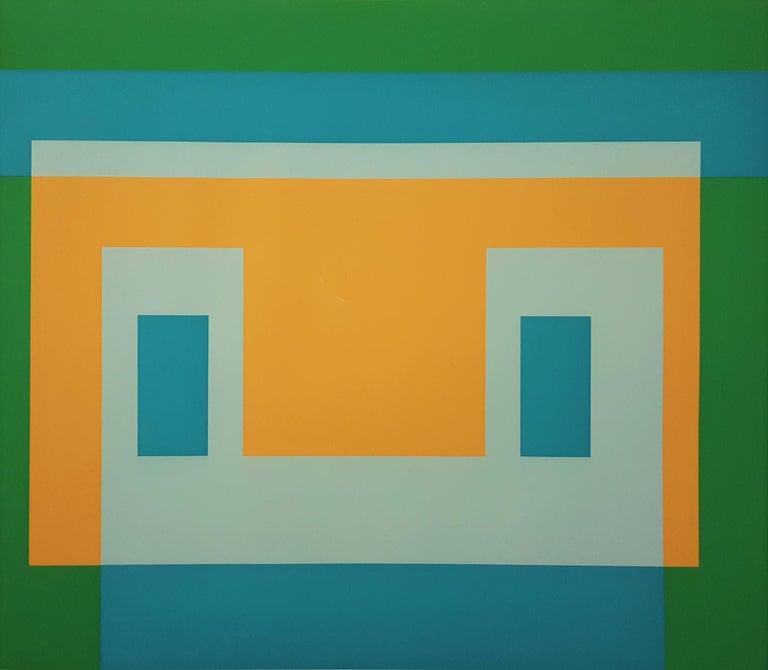 Josef Albers Abstract Print - I-S Va I