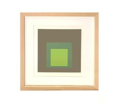 "Josef Albers ""Hommage to the Square: Tuscany"", 1966"