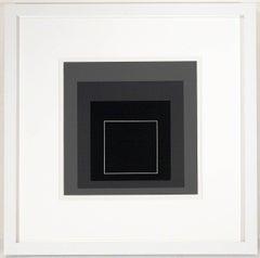 "Josef Albers, ""White Line Squares"""