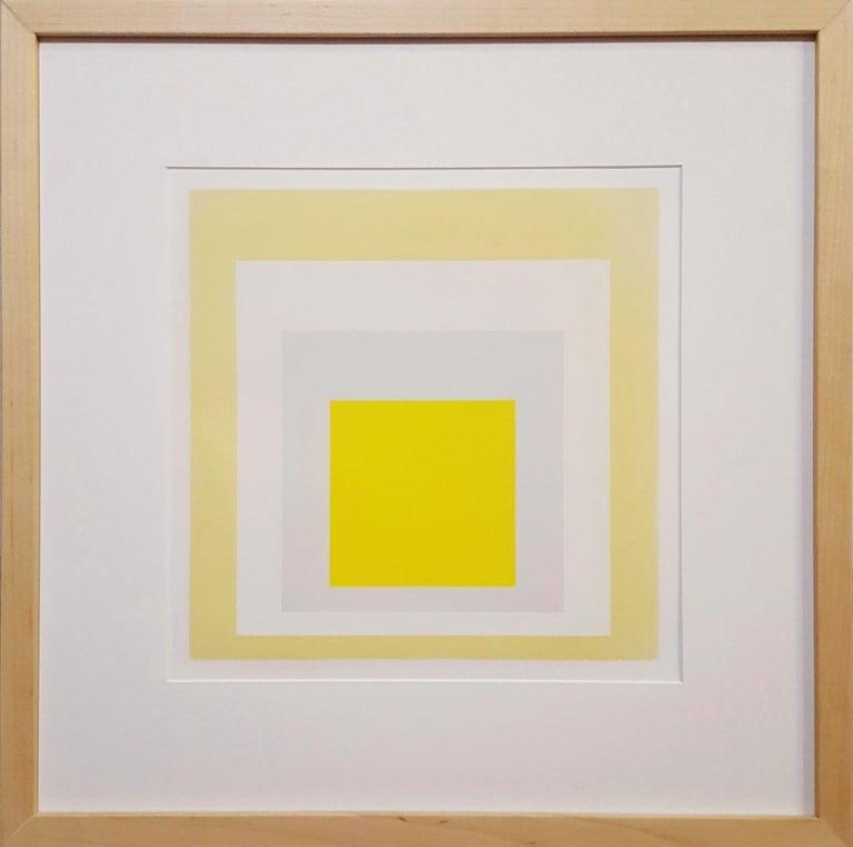 Joy - Abstract Geometric Print by Josef Albers
