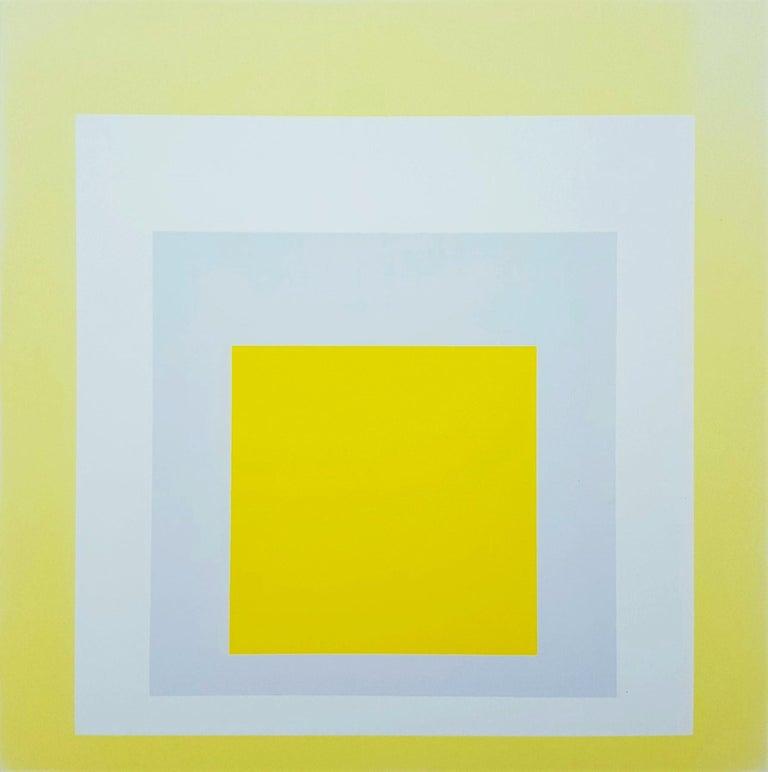 Josef Albers Abstract Print - Joy