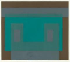 "Original Josef Albers ""I-S VA 3 (From Six Variants)"