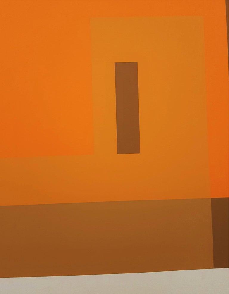 Red Orange Wall (1959) 6