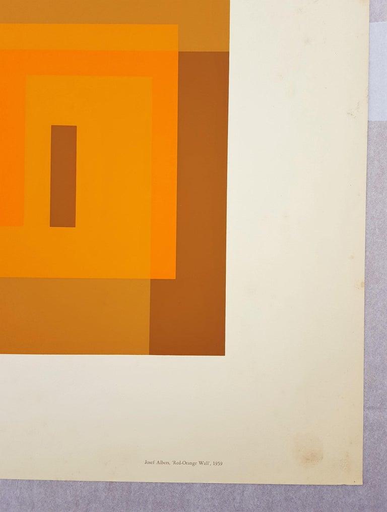 Red Orange Wall (1959) 2