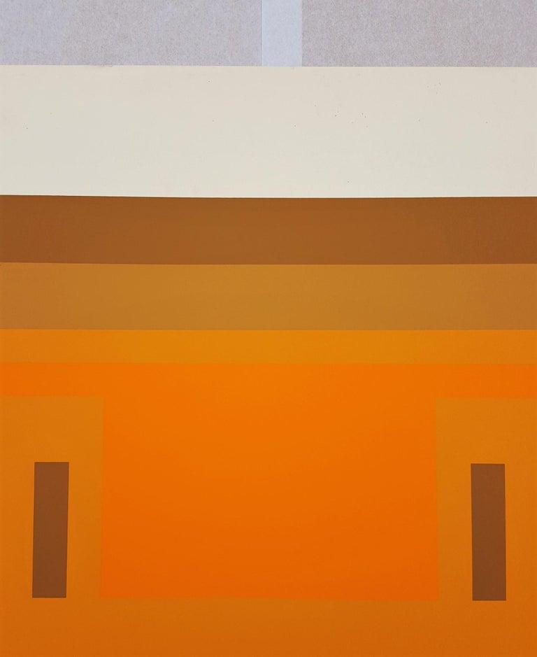 Red Orange Wall (1959) 3