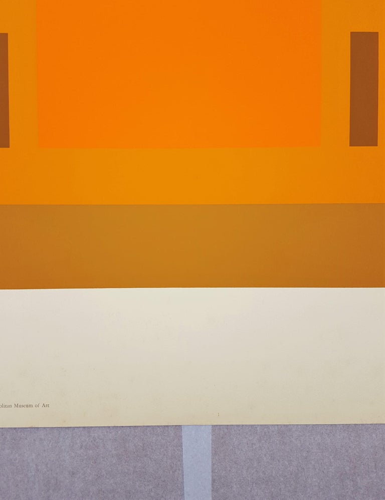 Red Orange Wall (1959) 4