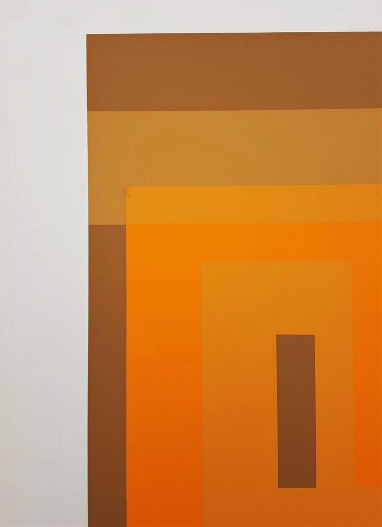 Red Orange Wall (1959) 5