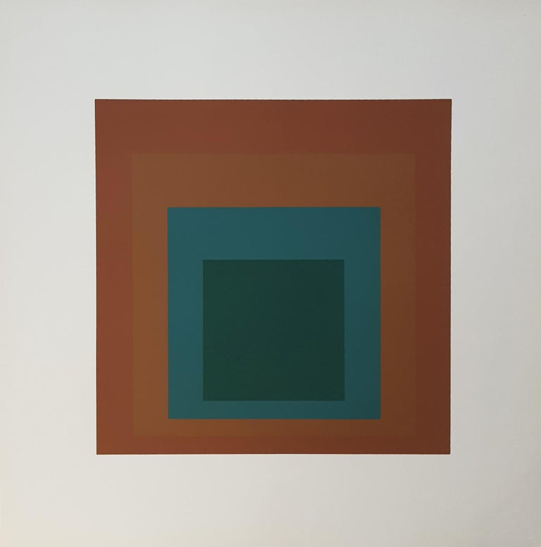 Reserved - Print by Josef Albers