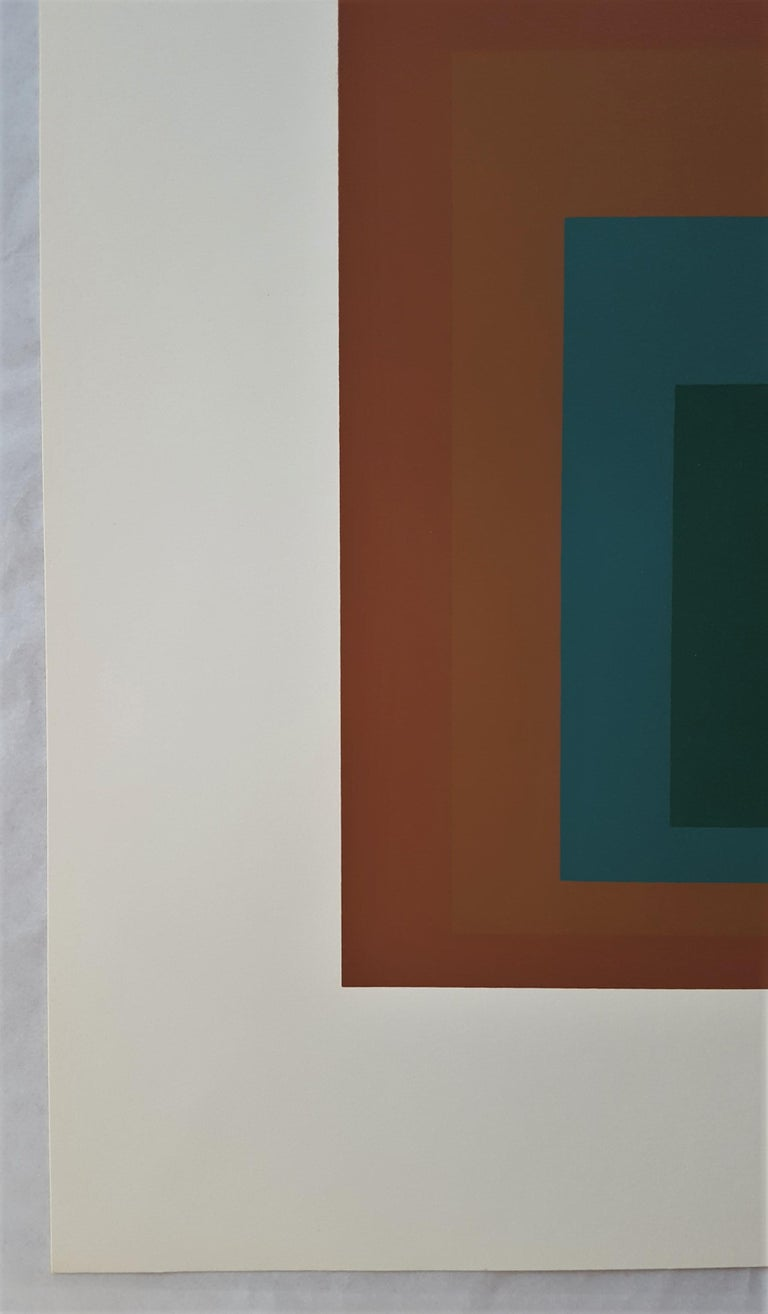 Reserved - Minimalist Print by Josef Albers