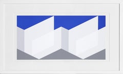 Rhombus Composition, Silkscreen by Josef Albers 1972