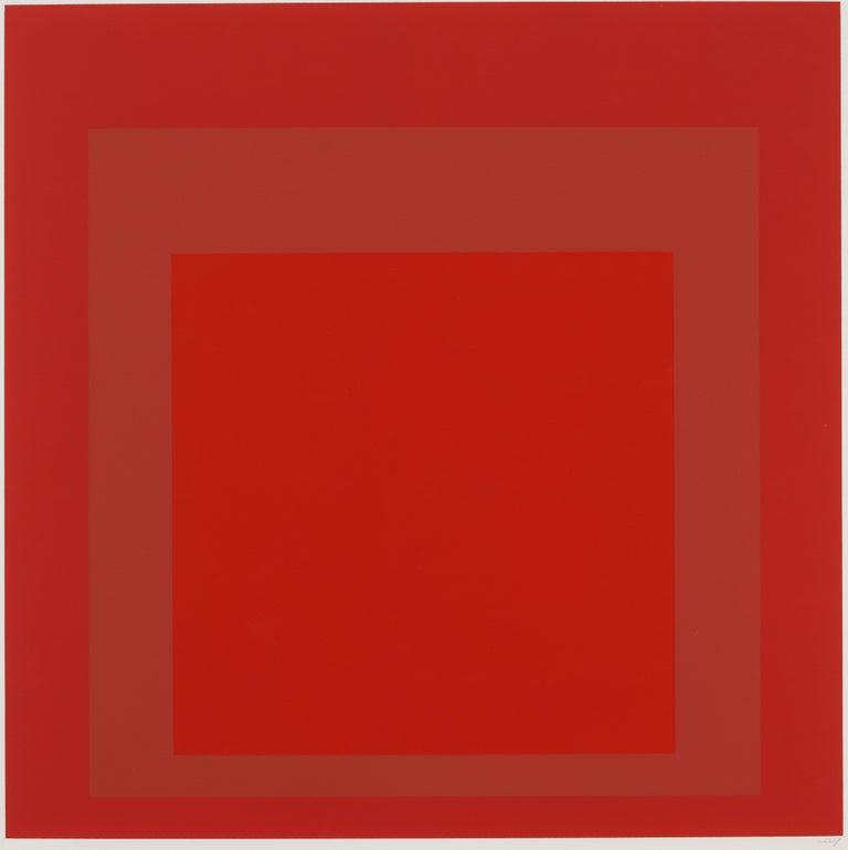 Josef Albers Abstract Print - SP V
