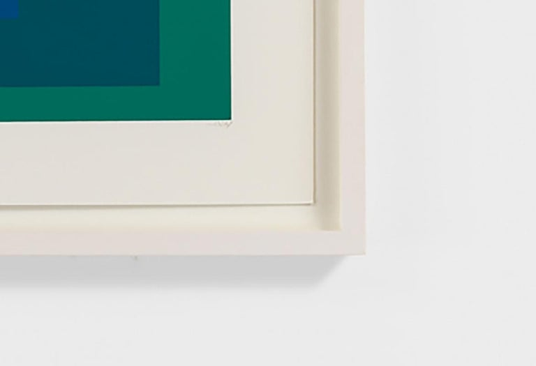 SP XII - Abstract Geometric Print by Josef Albers
