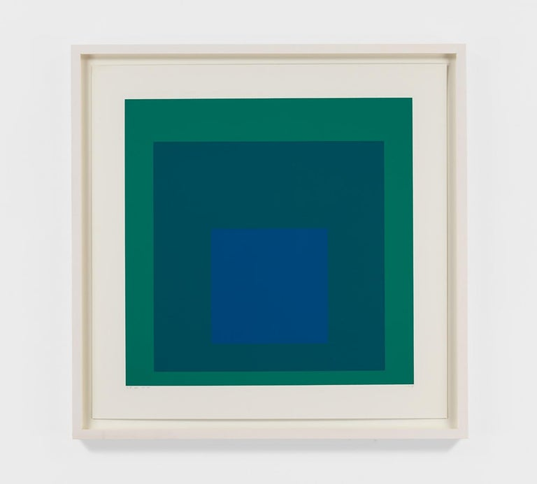 Josef Albers Abstract Print - SP XII