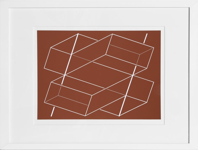 Artist:Josef Albers Portfolio: Formulation: Articulation (Double Portfolio) Title:Portfolio 1, Folder 3, Image 2  Year:1972 Medium:Silkscreen Edition:1000 Paper Size:15 x 20 inches [38.1 x 50.8 cm]