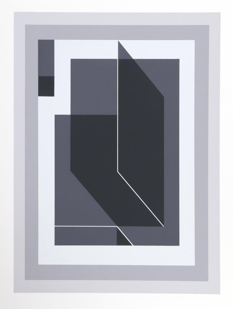 Untitled from Formulation: Articulation, Framed Silkscreen by Josef Albers 2
