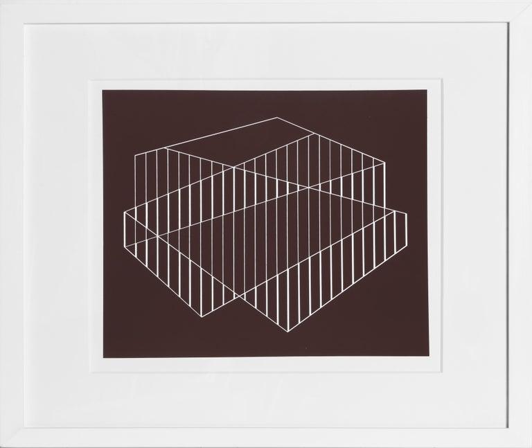 Artist:Josef Albers Title:Portfolio 2, Folder 6, Image 2 from Portfolio: Formulation: Articulation (Double Portfolio) Year:1972 Medium:Silkscreen Edition size:1000 Paper Size:15 x 20 inches [38.1 x 50.8 cm]  Frame: 19 x 24 inches  In an