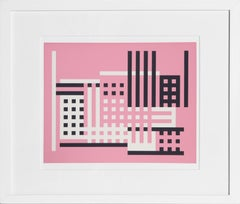Untitled from Formulation Articulation, Framed Silkscreen by Josef Albers