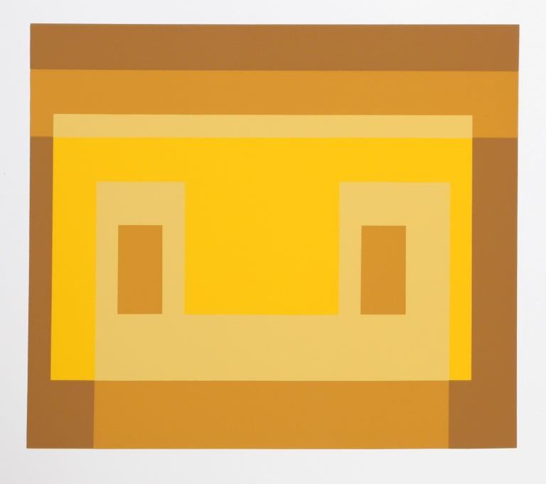 Variant from Formulation: Articulation - Print by Josef Albers