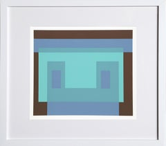 Variant from Formulation: Articulation, Silkscreen by Josef Albers