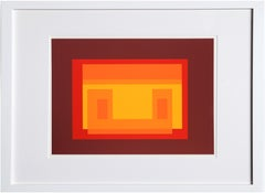 Variant from Formulation: Articulation, Silkscreen by Josef Albers