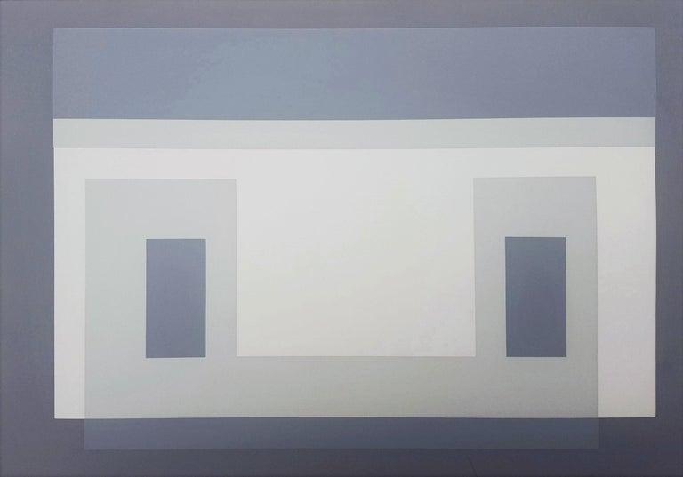 Josef Albers Abstract Print - Variant III